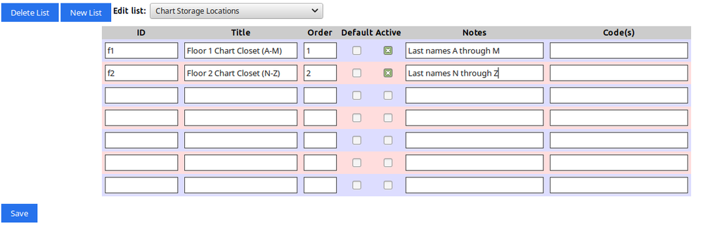 Chart Tracker - OpenEMR Project Wiki